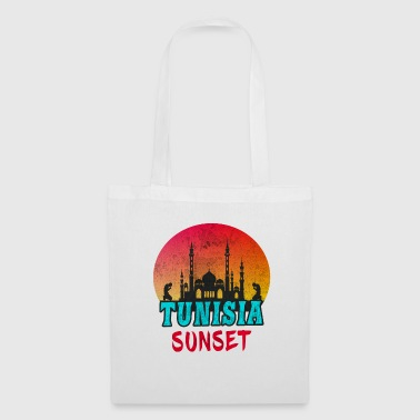 Mosque Tunisia Sunset Vintage / Gift Tunis - Tote Bag
