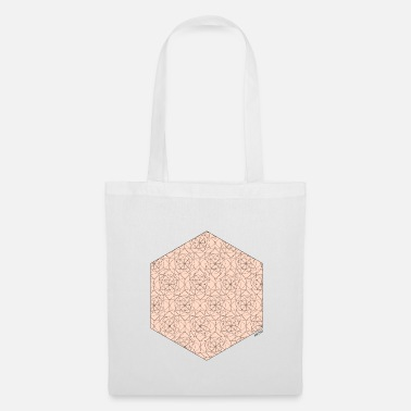 Animo Red hexagon - Tote Bag