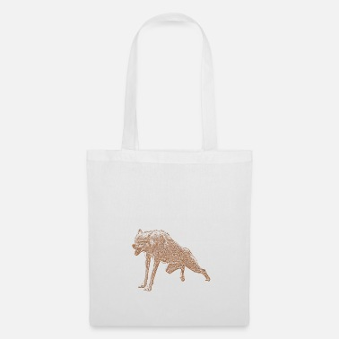 Agressif agressif Loup - Tote Bag