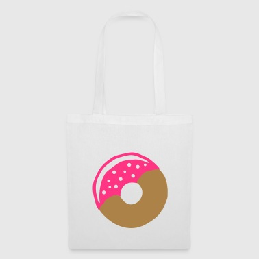 Donut with frosting - Tote Bag