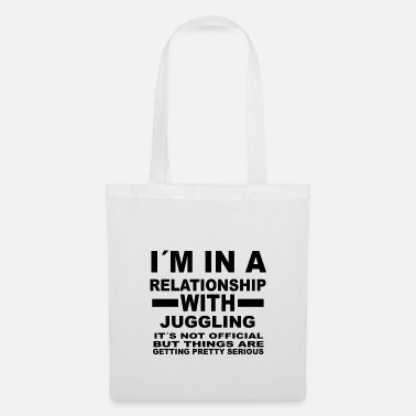 Juggling relationship with JUGGLING - Tote Bag