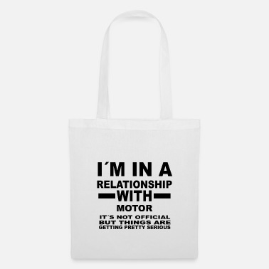 Motor Sport relationship with MOTOR SPORTS - Tote Bag