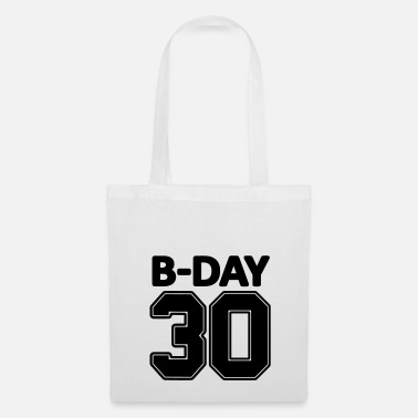 Jersey Number 30th birthday number numbers jersey number - Tote Bag