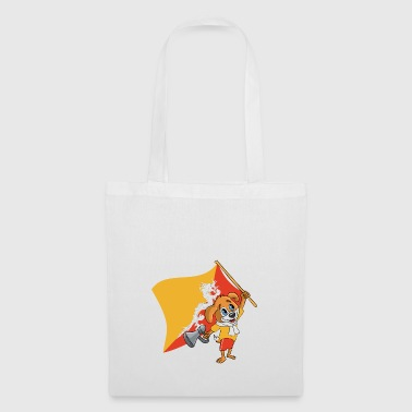 Bhutan fan dog - Tote Bag