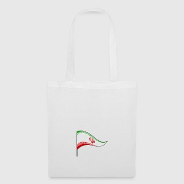 Iran Tehran flag country colors flag Persian - Tote Bag