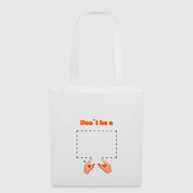 Don't be a square! Pulp Fiction - movie quote - Tote Bag