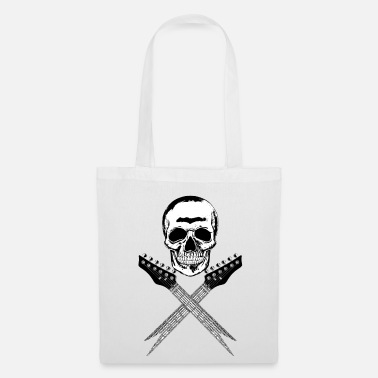 Skull Skull Guitars 001 - Tote Bag