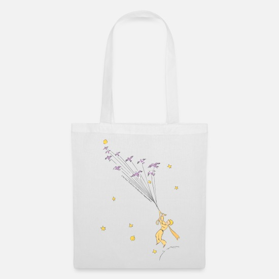Bestsellers Q4 2018 Bags & Backpacks - The Little Prince Travels With Birds - Tote Bag white