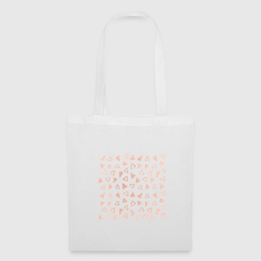 triangle d'or rose - Tote Bag
