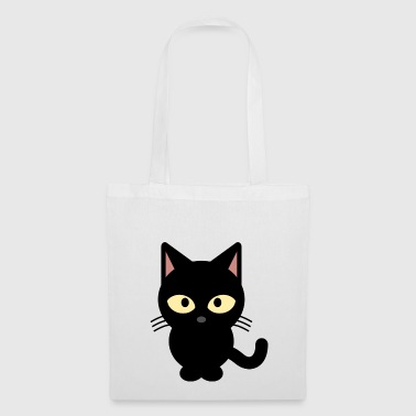Shirt de chat noir - Tote Bag