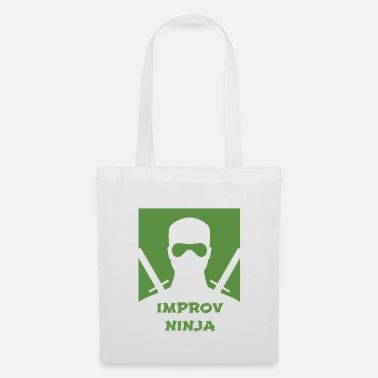 Broadway Fun Improvisation Artist Shirt Improv Ninja - Tote Bag