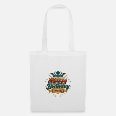 Happy Birthday Daddy Happy Birthday Daddy Birthday Gift Vintage - Tote Bag