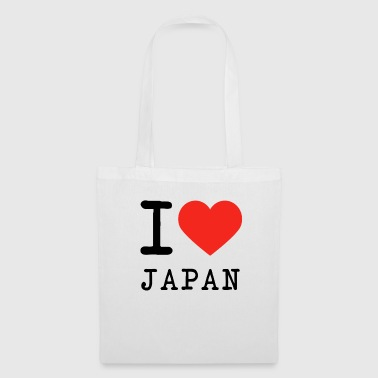 I love Japan - Stoffbeutel