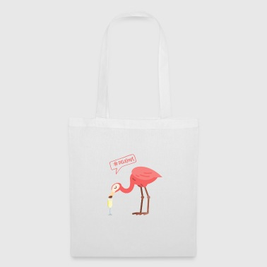 Sparkling Flamingo - Party Fun Gift - Tygväska