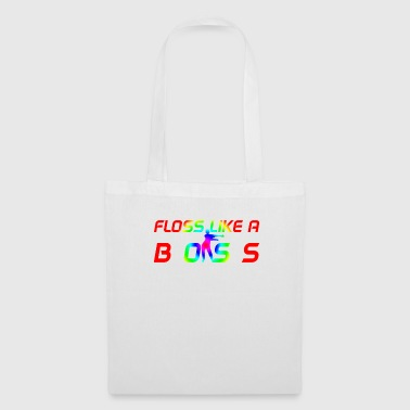 Floss Like A Boss T-Shirt Flossing Kid Rainbow - Tote Bag