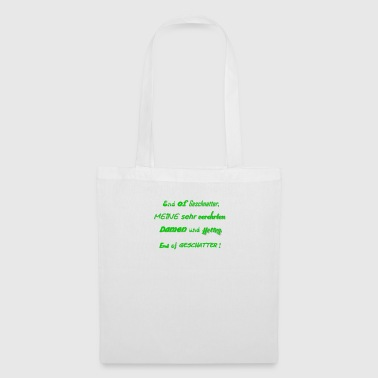 End of chatter - ACTs instead of words - Tote Bag