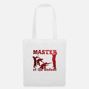 Undead Master of The Undead - Master of the Undead Zombies - Tote Bag