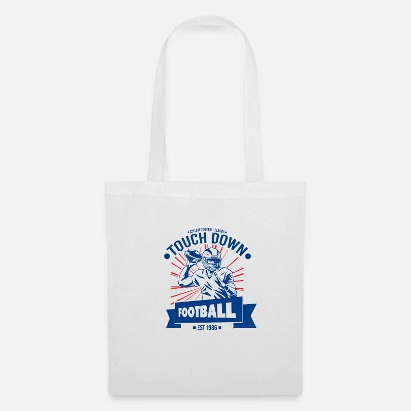 American Bags & Backpacks - American football - Tote Bag white