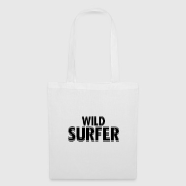 Water Sports Wild Surfer - Tote Bag