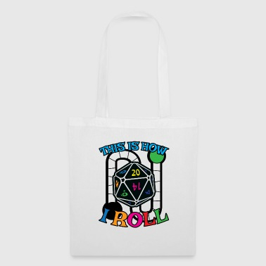 Dice Funny Board Game Gift for Boardgame and Dice Lovers - Tote Bag