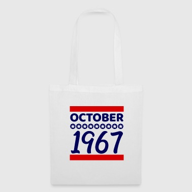Age Birthday present October 1967 - Tote Bag