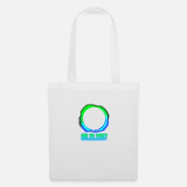 21st Birthday Total Solar Eclipse Blue Green August 21st 2017 - Tote Bag