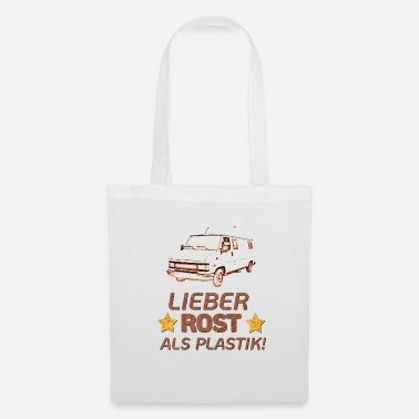Bus Driver Dear rust than plastic! Shirt for men and women - Tote Bag