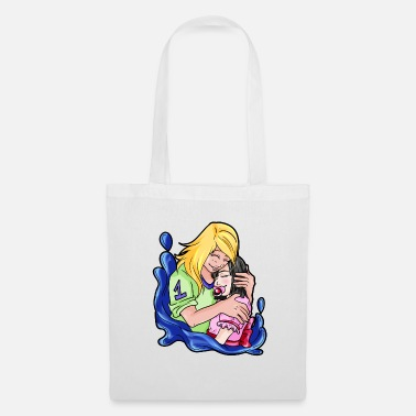 Submissive Adult Baby Little Couple Roast Daddy's Little Girl - Tote Bag