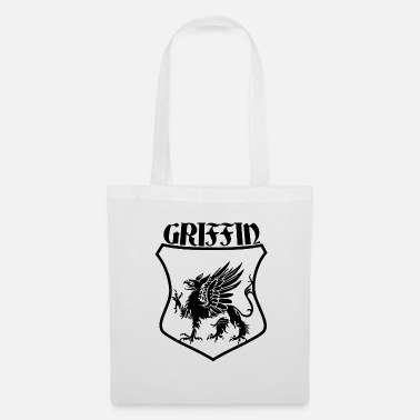 Shield Griffin Name Shield Mythical Eagle Lion - Tote Bag
