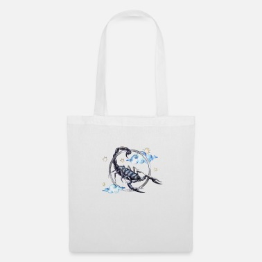 Kanji Scorpio watercolor - Tote Bag