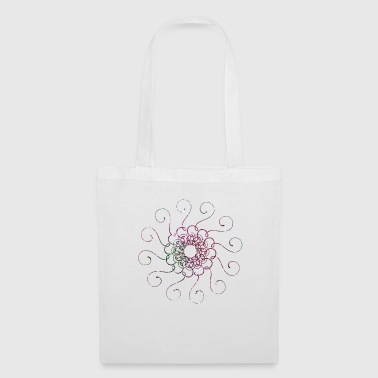 Mandala paillettes - Tote Bag