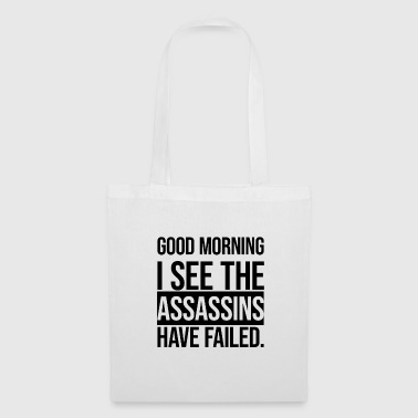 Good Morning! Construction site work job monday gift - Tote Bag