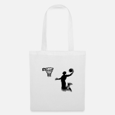 Joueur De Basket-ball basket-ball - Tote Bag
