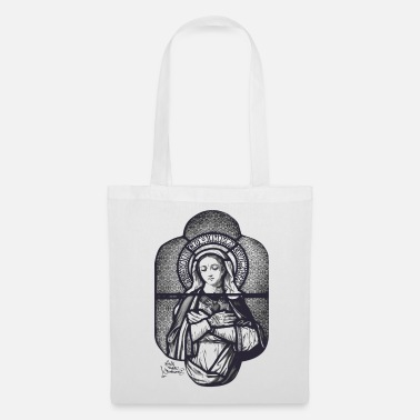 Graffiti Vierge Tatoo - Tote Bag