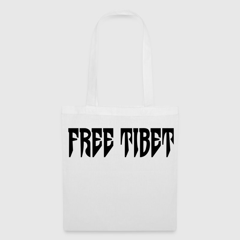 Free Tibet. International Independence Movement - Bolsa de tela