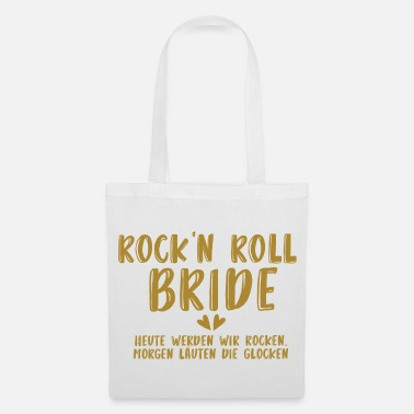 Nubile Rock'n Roll Bride - JGA - Gold Series - Borsa di stoffa