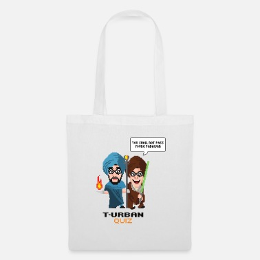 Scifi You shall not pass turban quiz (dark) - Tote Bag