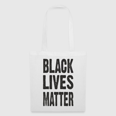 BLACK LIVES MATTER TYPOGRAPHIC - Tote Bag