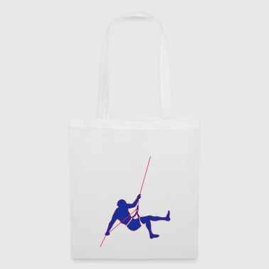 Alpinistes 2 escalade cadeau descentes en rappel - Tote Bag