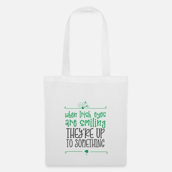 Day Bags & Backpacks - ST. PATRICK'S DAY - Tote Bag white