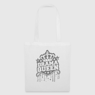 Graffiti stamp graffiti drops woman drama queen prinzess - Tote Bag