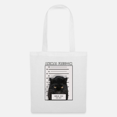 Carcere Animal Freedom Panther - Borsa di stoffa
