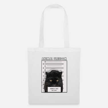 Prison Animal Panther Liberté - Tote Bag