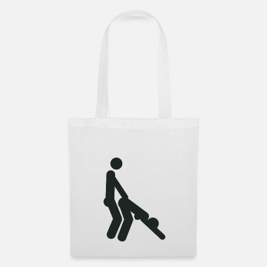 Sex Position Doggystyle sex position (shotgun) - Tote Bag