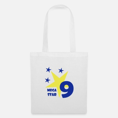 All Nine Mega Star is nine years old! - Tote Bag