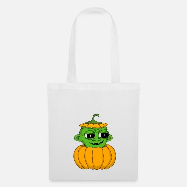 Alien pumpkin - Tote Bag