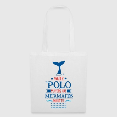 Waterpolo Players Are Mermaids In Battle - Tote Bag