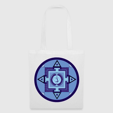 BLUE - forehead Chakra - third eye - perception - Tote Bag