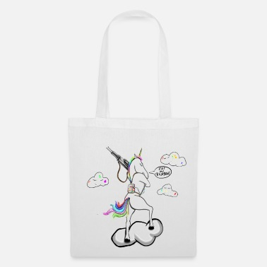 Unicorn Eat my rainbow! Eat my rainbow! unicorn - Tote Bag