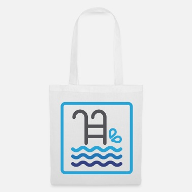Baywatch Pool summer water sea gift idea christmas - Tote Bag